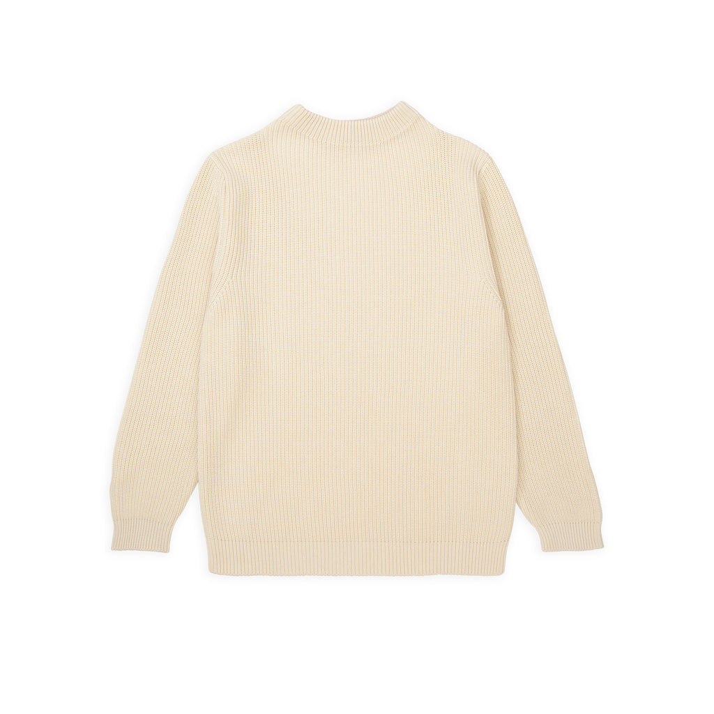 Cotton Crewneck - Off-White