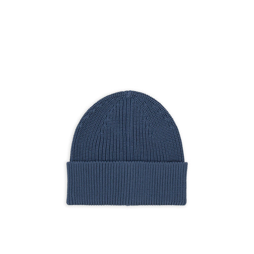 Cotton Beanie - Petroleum