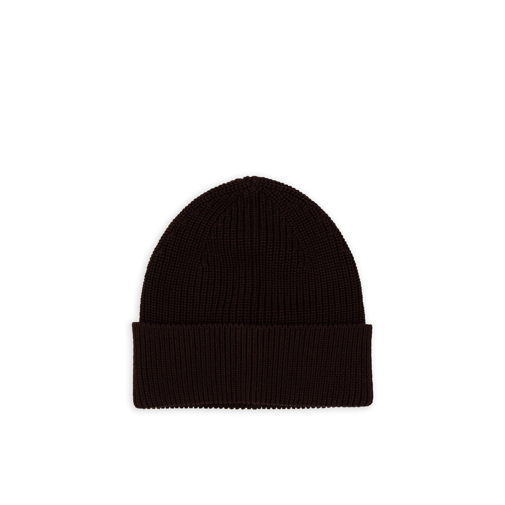 Cotton Beanie - Brown