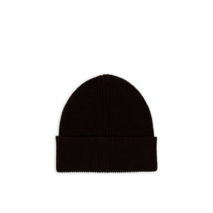 ANDERSEN-ANDERSEN Cotton Beanie - Dark Brown