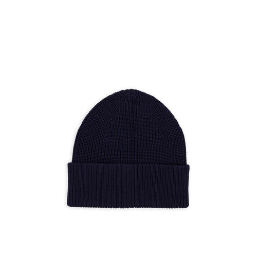 ANDERSEN-ANDERSEN Cotton Beanie - Royal Blue