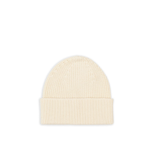 Cotton Beanie - Off-White