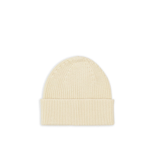 Cotton Beanie - Raw Cotton