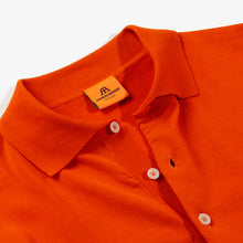 ANDERSEN-ANDERSEN Polo Short - Orange