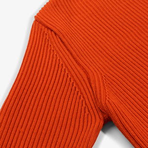 ANDERSEN-ANDERSEN Cotton Crewneck - Orange