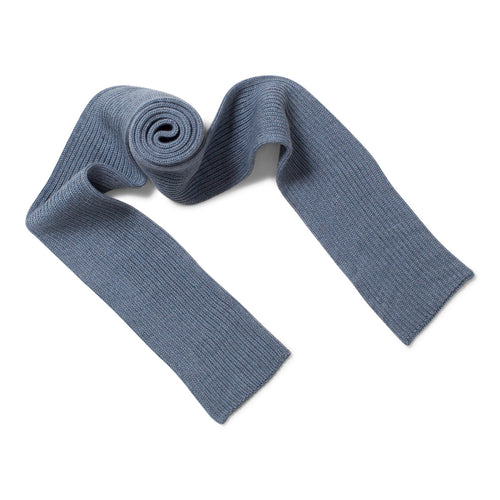 light indigo scarf