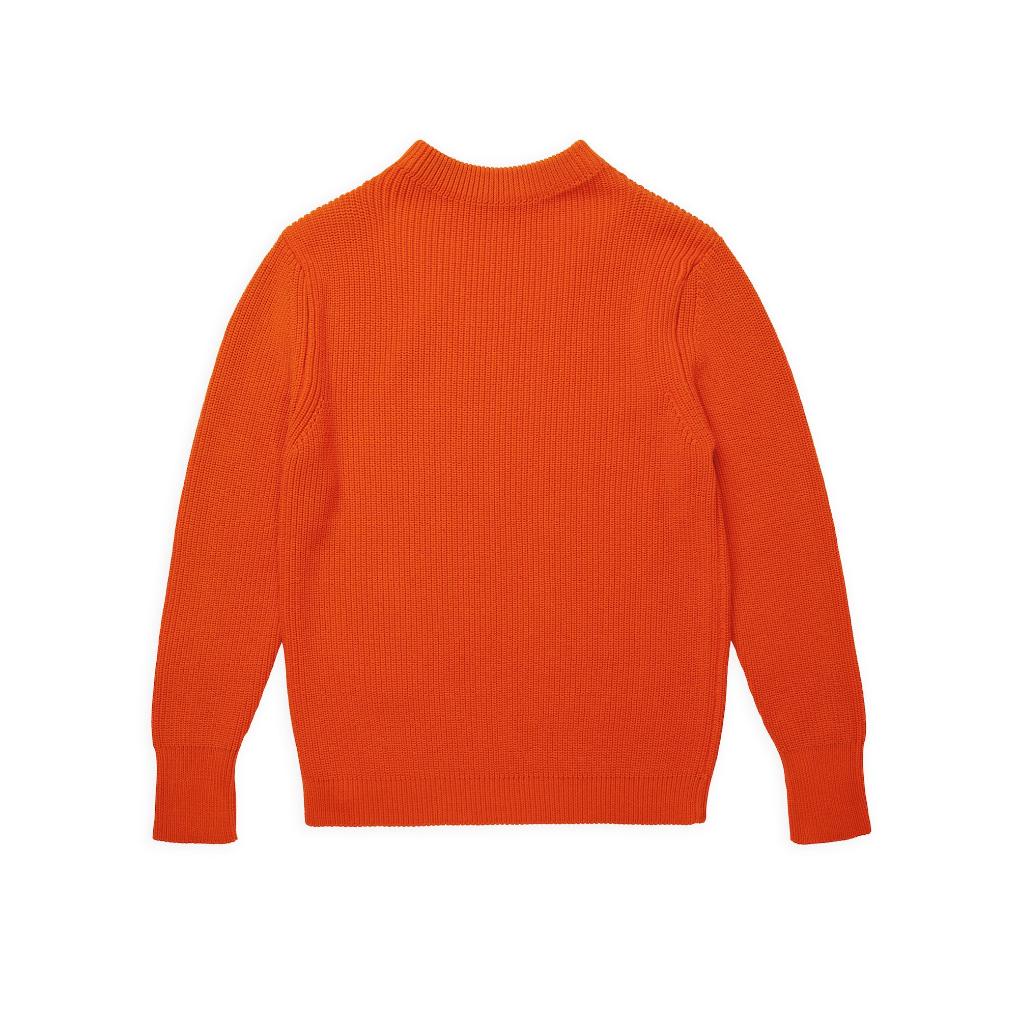 Cotton Crewneck - Orange