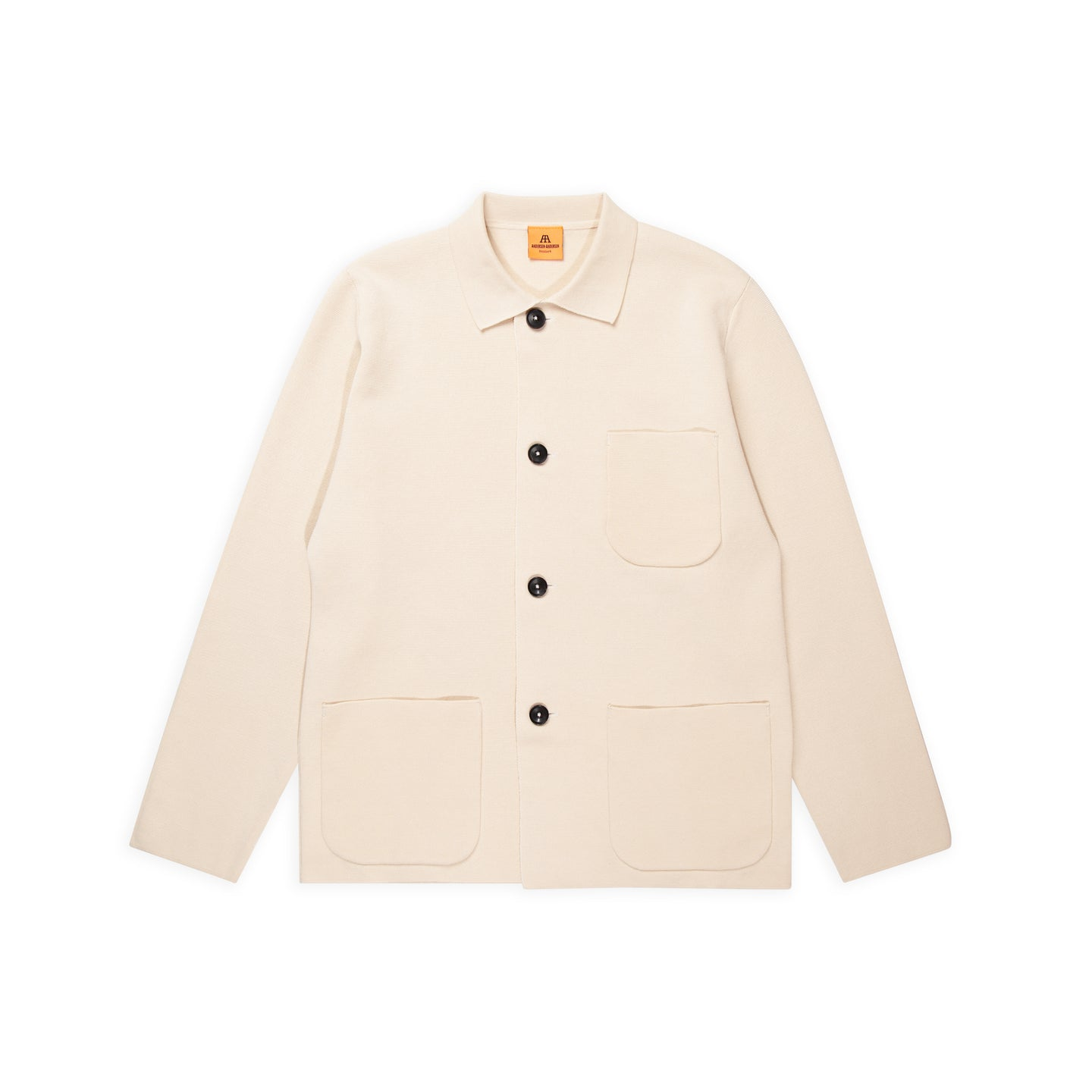 ANDERSEN-ANDERSEN Harbour Jacket - Raw Cotton