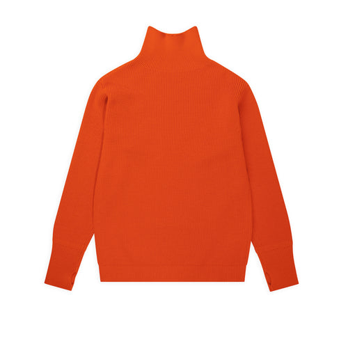 ANDERSEN-ANDERSEN Sailor Turtleneck - Orange
