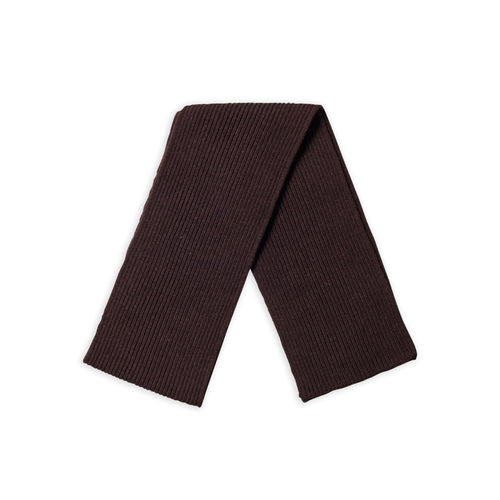 ANDERSEN-ANDERSEN Scarf Wide - Natural Brown