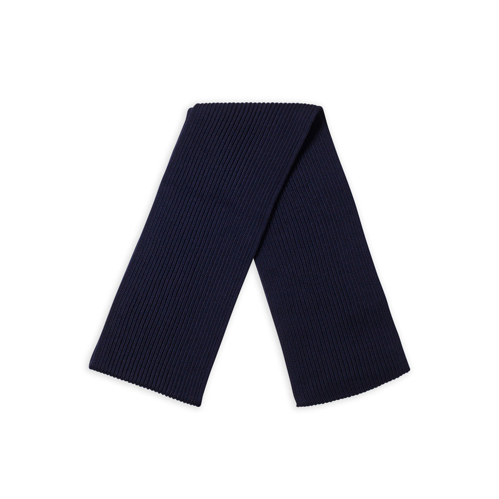 Scarf Wide - Navy Blue
