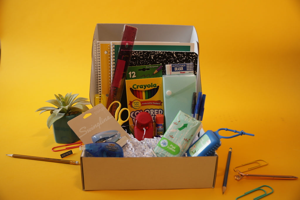 BACK TO SCHOOL ESSENTIALS BOX