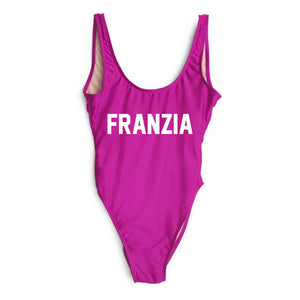 """FRANZIA"" One Piece Swimsuit - ShopFlyNation.com"