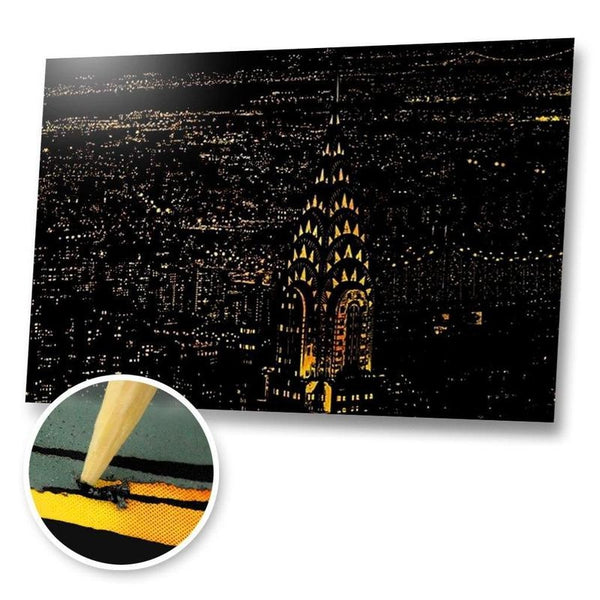 Chrysler Building, New York Scratch Painting Kit