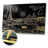Welcome to Paris Scratch Painting Kit