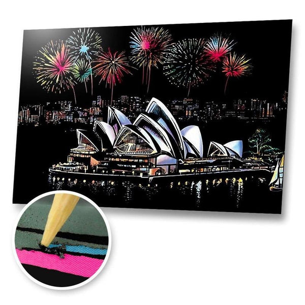 Sydney, Australia Scratch Painting Kit
