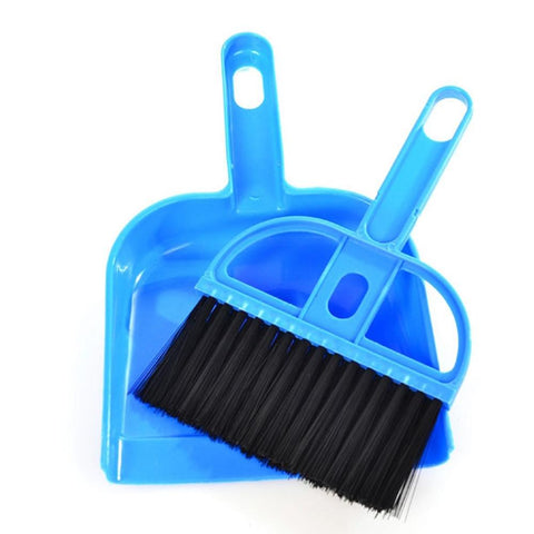 Ultra-Wide Sweeping Brush with Pan