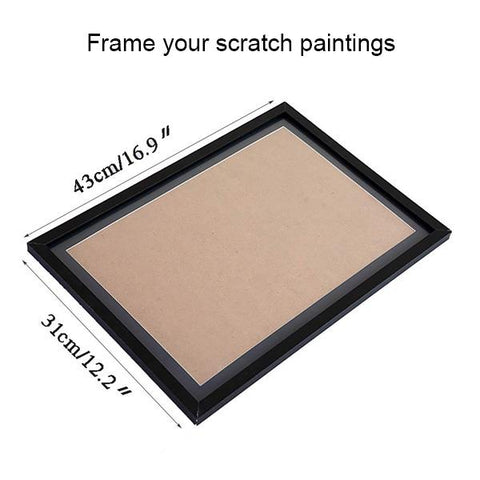 Scratch Art Frame