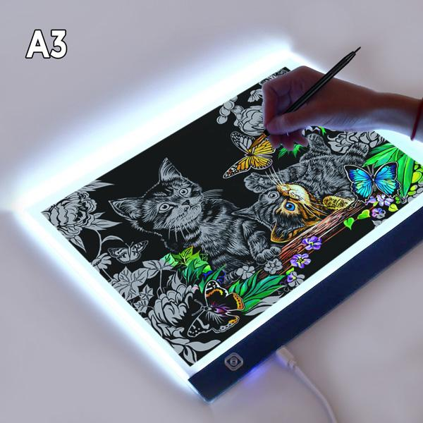 A3 Ultrathin LED Light Pad