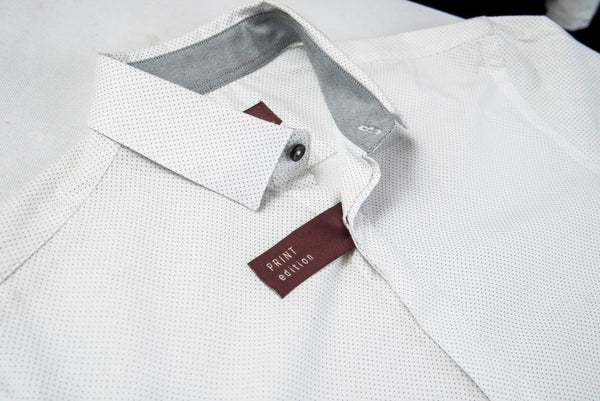 ZARA MAN SHIRT PRINT EDITION WHITE