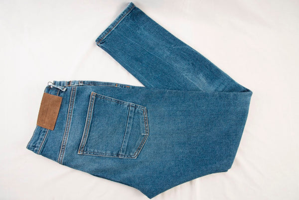 ZARA Denim Faded Blue
