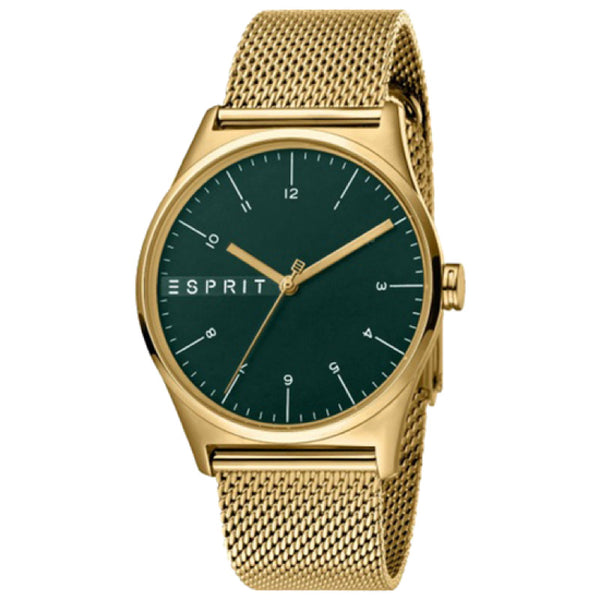 Esprit Gold Colored Strap & Gold Dial
