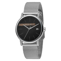 Esprit Stainless Steel Mesh Silver Dial