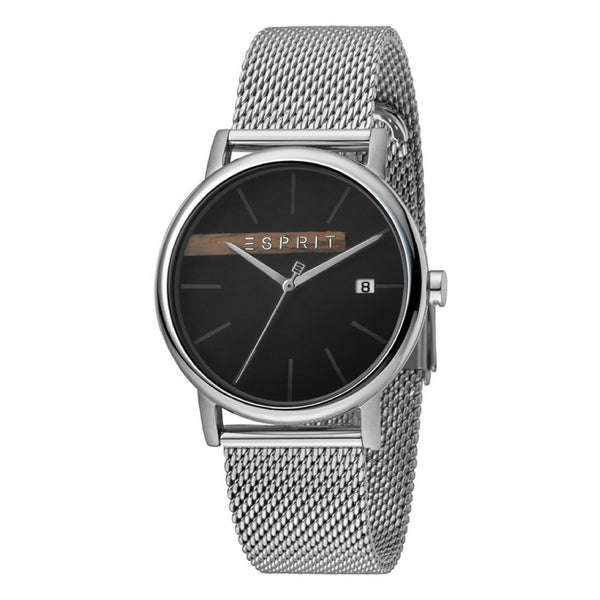 Esprit Stainless Steel Mesh & Chronograph (Black)