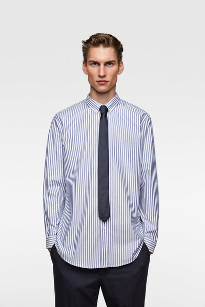 ZARA FORMAL STRIPED SHIRT