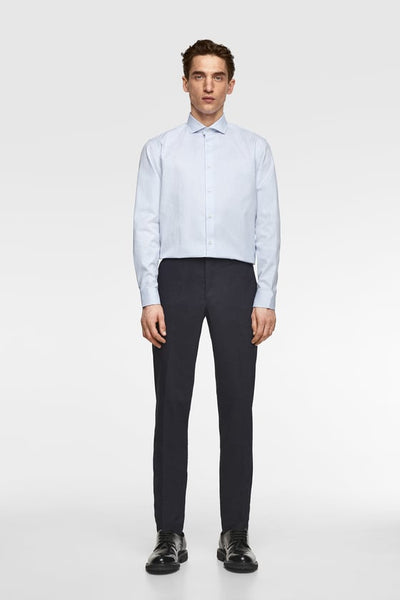 ZARA STRIPED FORMAL SHIRT