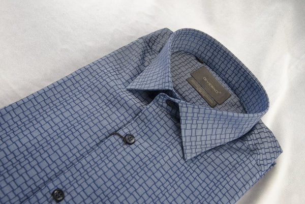 Giverno Checked Slim Fit Shirt