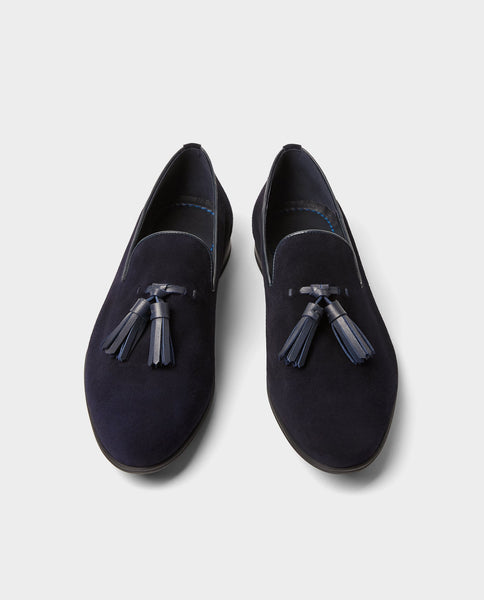 Zara Moccasin Blue