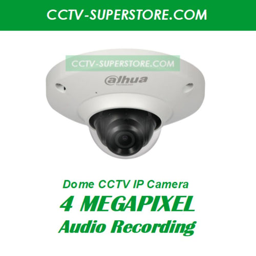 Dahua 4MP HD CCTV IP Network Camera, Built-in Mic & Optional Singapore Installation