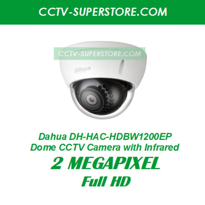 Dahua 1 x DH-HAC-HDBW1200EP 2MP HD CCTV Camera Upgrade Package in Singapore
