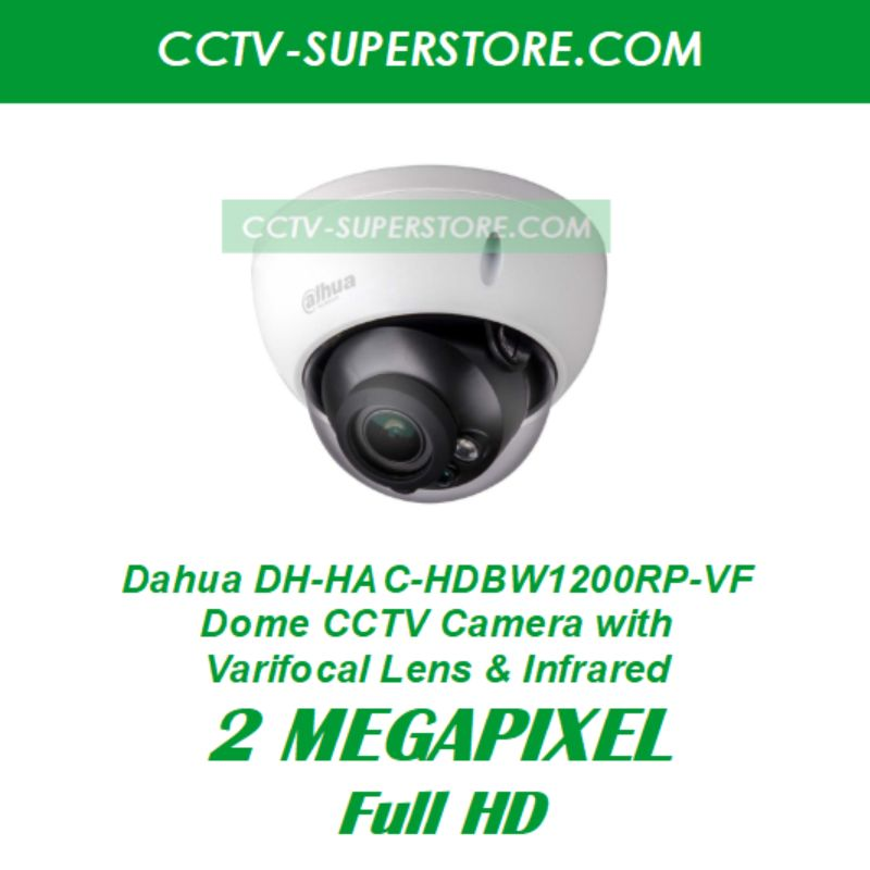Dahua 1 x DH-HAC-HDBW1200RP-VF 2MP HD CCTV Camera Upgrade Package in Singapore