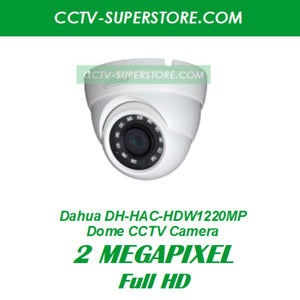 Dahua 1 x DH-HAC-HDW1220MP 2MP Full HD CCTV Camera Upgrade Package in Singapore