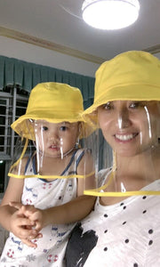 Adult & Kids Hat with Face Shield