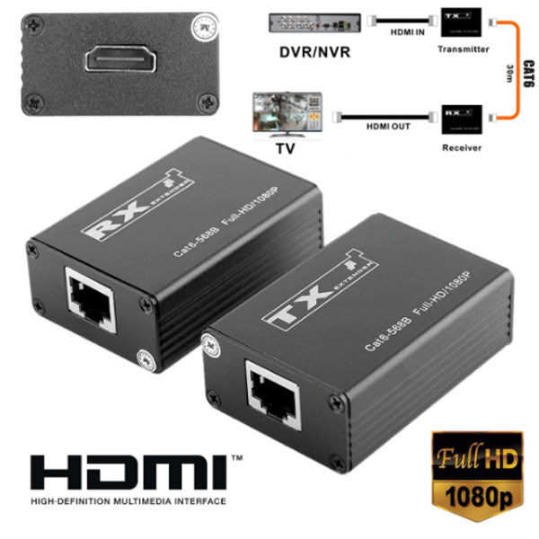 DIGITBLUE 30m Wireless HDMI Transmitter Receiver | Pro HDMI Extender | HDMI Splitter | Support 1080P | 165MHz/165Gbps Single Channel Mayitr