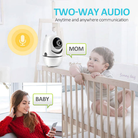 Image of DIGITBLUE HD 1080P Cloud IP Camera | WiFi Wireless Baby Monitor | Home Security Surveillance Camera | Night Vision |Auto Tracking CCTV Network | Mini Cam