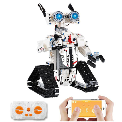 DIGITBLUE® Light Version Creator APP Remote Control Tracked Robot Building Blocks City Technic Programming RC Children Toys Kids Gifts