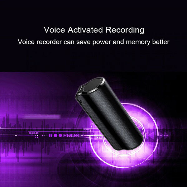 DIGITBLUE Mini hidden Audio Voice Recorder | Magnetic Professional Digital HD Voice Recorder | 600 hours recording | Dictaphone denoise long-distance