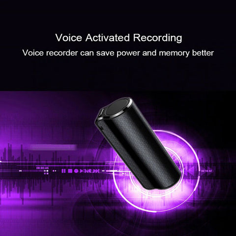 Image of DIGITBLUE Mini hidden Audio Voice Recorder | Magnetic Professional Digital HD Voice Recorder | 600 hours recording | Dictaphone denoise long-distance