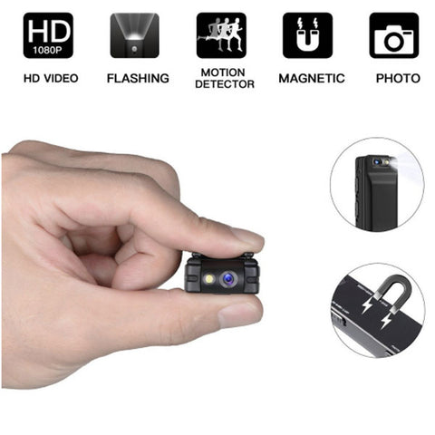 Image of DIGITBLUE Mini Digital Camera | HD Flashlight Micro Cam Camera | Magnetic Body Camera | Motion Detection Snapshot Loop Recording Camcorder
