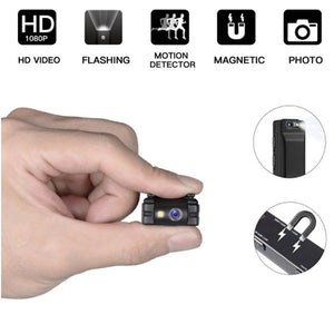 DIGITBLUE Mini Digital Camera | HD Flashlight Micro Cam Camera | Magnetic Body Camera | Motion Detection Snapshot Loop Recording Camcorder