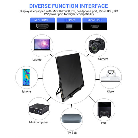 "4K 15.6"" Portable Monitor 