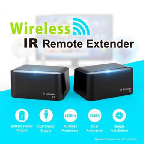 Image of DIGITBLUE Wireless IR Remote Extender | IR Repeater | IR Transmitter Receiver | IR Blaster Emitter