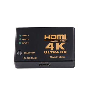 DIGITBLUE 3 Port 4K*2K 1080P Switcher | HDMI Switcher | 3x1 Splitter Box | Ultra HD Switcher | For HDTV Xbox PS3 PS4 Multimedia