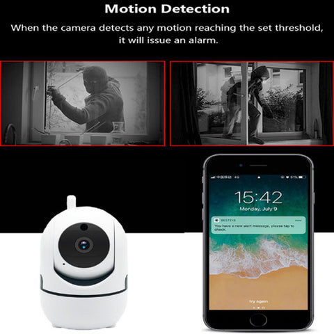 HD 1080P Cloud IP Camera | WiFi Wireless Baby Monitor | Home Security Surveillance Camera | Night Vision |Auto Tracking CCTV Network | Mini Cam