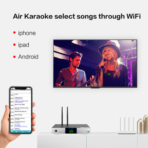 Image of KHP-8816 Mini Android HDD/Cloud Karaoke Player | Karaoke Machine