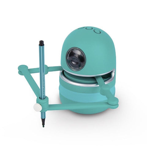 DIGITBLUE® NEW Drawing Robot Quincy AI Artist with 64 Learning Cards